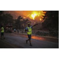Эвакуация в Турции с помощью мегафонов из-за пожаров