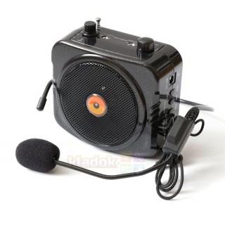 Громкоговоритель поясной PM87 с bluetooth/USB/mSD/эхо