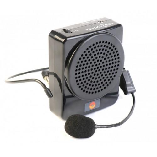 Усилитель голоса поясной РМ-72 с AUX и аккумулятором