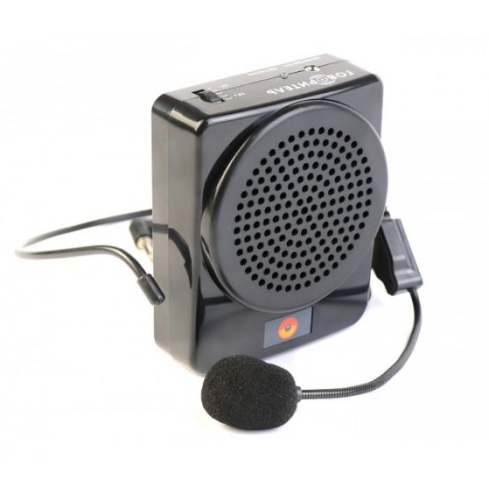 Усилитель голоса поясной с микрофоном PM-72