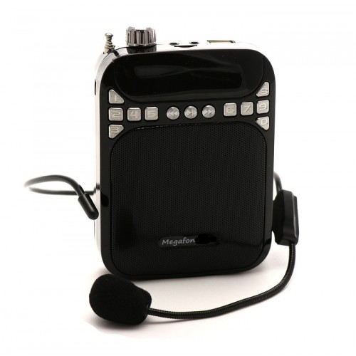 Усилитель голоса поясной М-3 USB с записью до 40 Ватт