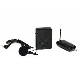 Беспроводной микрофон UHF универсальный МБ7 с петличкой