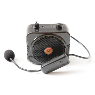 Громкоговоритель с беспроводным микрофоном PM87T bluetooth/записью/USB/mSD/радио/эхо