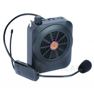 Громкоговоритель с беспроводным микрофоном PM82 bluetooth/записью/USB/mSD/радио