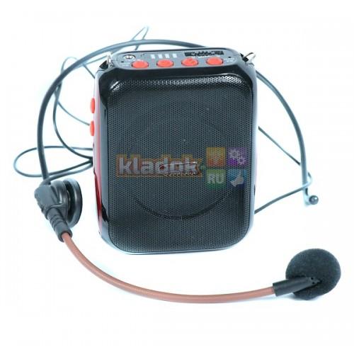 Усилитель голоса поясной V8 Bluetooth/USB/TF/запись