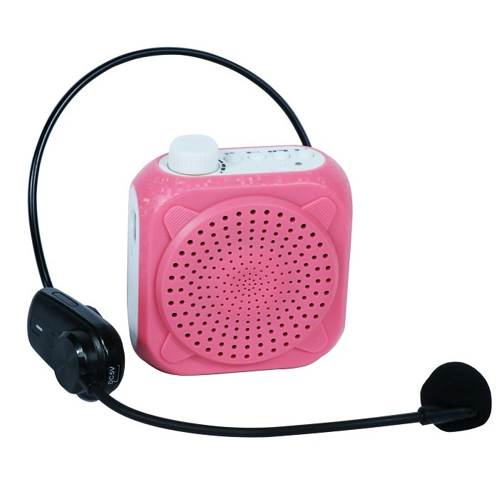 Громкоговоритель с беспроводным микрофоном UHF и плеером V802