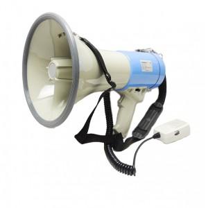 Ручной мегафон на плечо РМ-25С с выносным микрофоном
