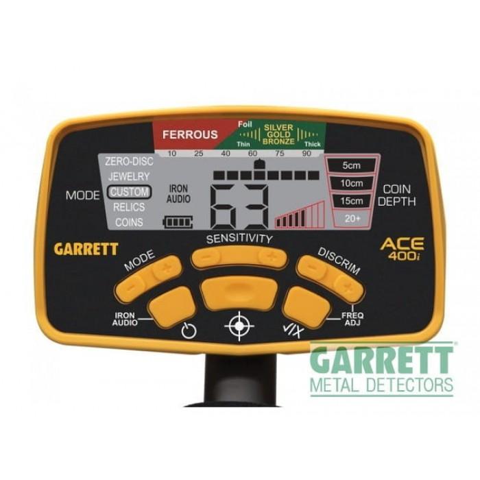 Металлоискатель GARRETT ACE 400I грунтовый